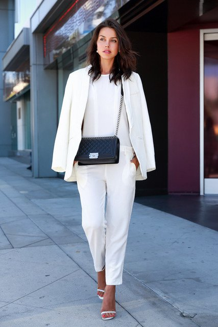 All White Outfits for Work | Styles Week