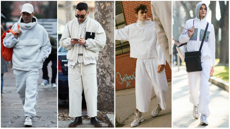 The Coolest All White Outfits for Men - The Trend Spott