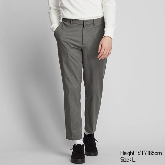 MEN EZY Ankle Pants (Ultra stretch DRY-EX) - Ankle Length Pants .