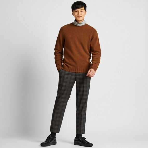 MEN EZY Ankle Pants (Tartan Check) | UNIQ