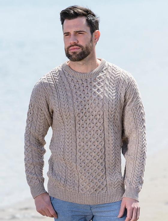 Aran sweater, Irish sweater, Cable knit sweater | Aran Sweater Mark