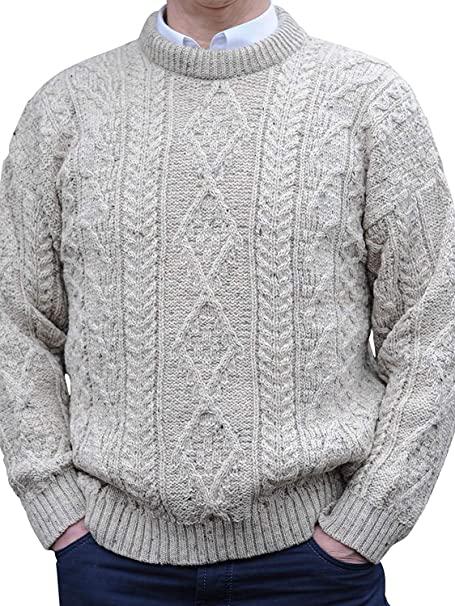 Murphy of Ireland Regular Weight Irish Aran Sweaters at Amazon .