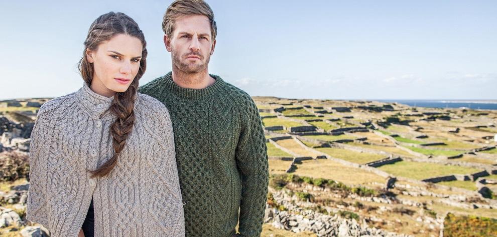 Irish Sweaters Direct From The Aran Islands | Authentic Aran Sweate