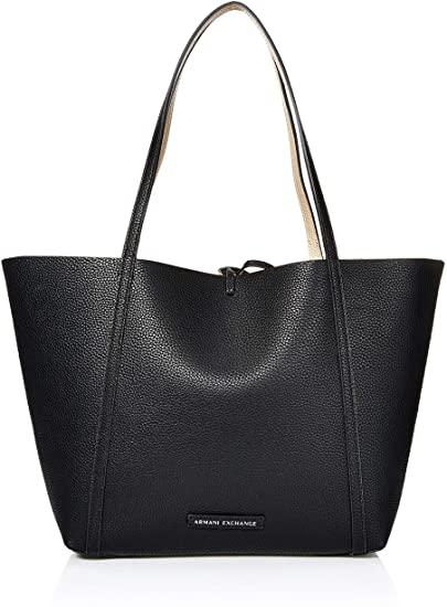 Amazon.com: A X Armani Exchange Pebble PU Reverisble Tote Bag .
