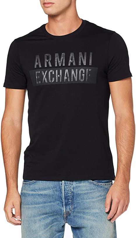 Amazon.com: A X Armani Exchange Men's Short Sleeve T-Shirt with .