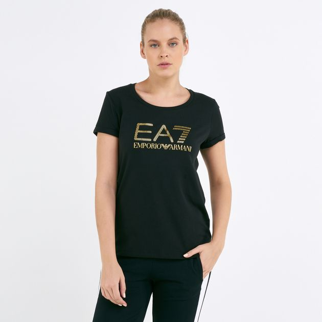 EA7 Emporio Armani Women's T-Shirt   T-Shirts   Tops   Clothing .