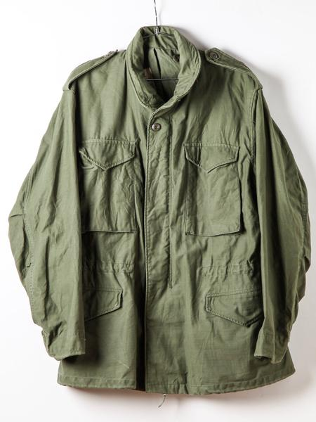 Vintage Green Army Jacket WINTER Coat Authentic Military Issue .