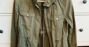 H&M Jackets & Coats | Hm Green Army Jacket | Poshma