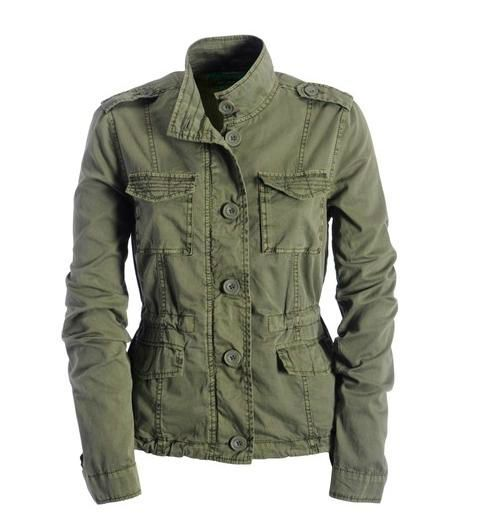 army jacket women - Bing Images | Military style jackets, Military .