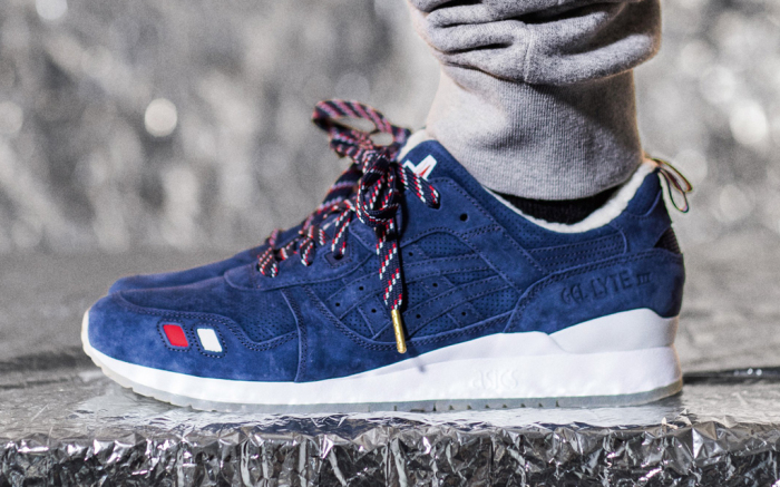 Kith Moncler Asics Gel Lyte 3 Sneaker Collaboration Release Date .