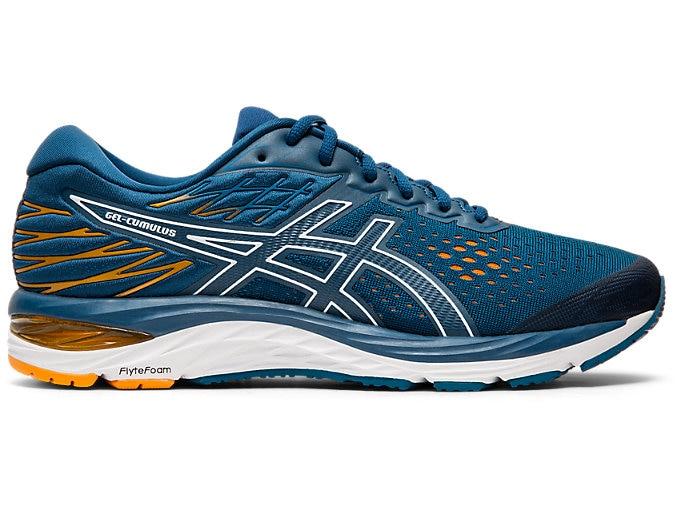 Men's GEL-CUMULUS™ 21 | MAKO BLUE/WHITE | Running Shoes | ASI