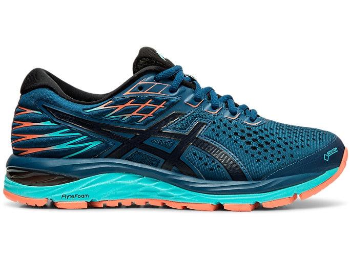 Women's GEL-CUMULUS 21 G-TX | Mako Blue/Midnight | Running Shoes .