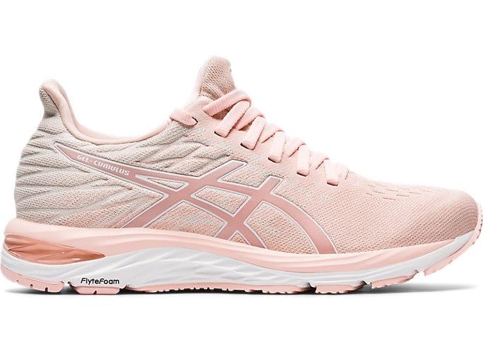 Women's GEL-CUMULUS 21 KNIT | Breeze/White | Running Shoes | ASI