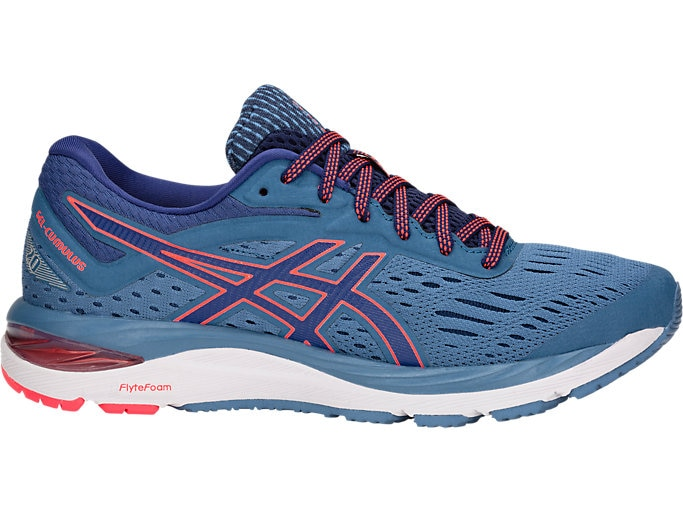 Women's GEL-Cumulus 20   Azure/Blue Print   Running Shoes   ASI