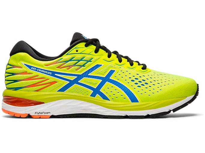 Men's GEL-CUMULUS™ 21   SAFETY YELLOW/ELECTRIC BLUE   Running .