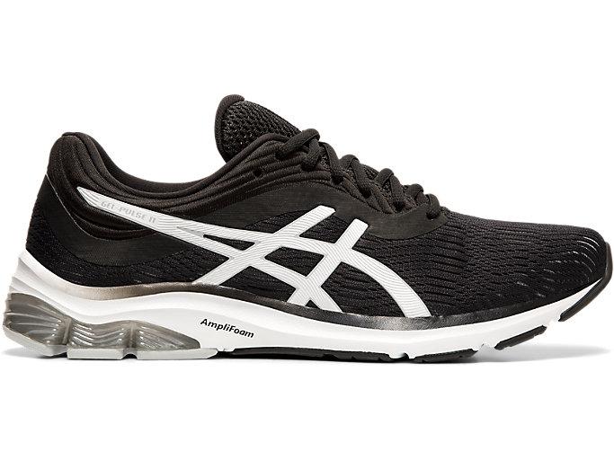 Men's GEL-PULSE™ 11 | BLACK/PIEDMONT GREY | Running Shoes | ASI