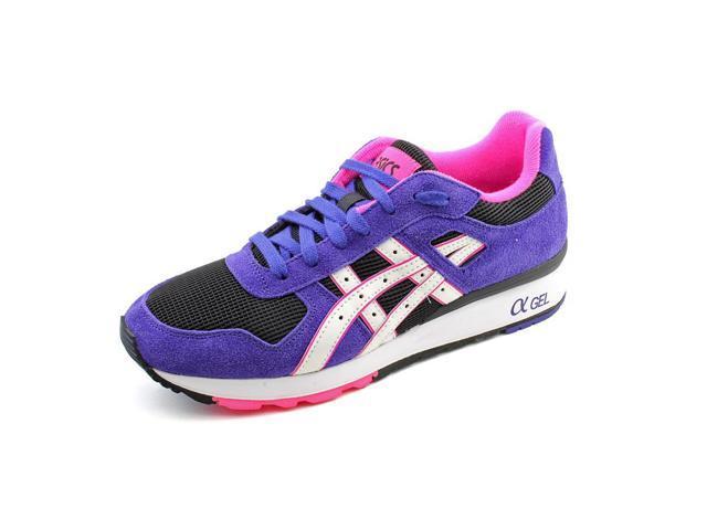 Asics GT-II Mens Size 8 Purple Suede Running Shoes EU 40.5 .