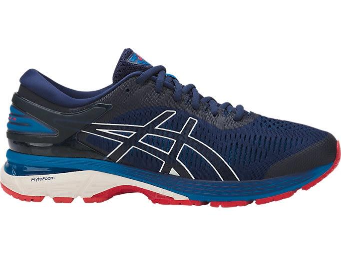 GEL-KAYANO 25   Men   INDIGO BLUE/CREAM   Men's Running Shoes .