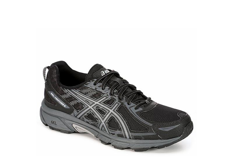 Black ASICS GEL-Venture 6 Men's Running Shoes   Rack Room Sho