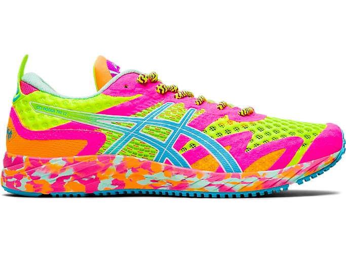 Women's GEL-NOOSA TRI™ 12 | SAFETY YELLOW/AQUARIUM | Running Shoes .
