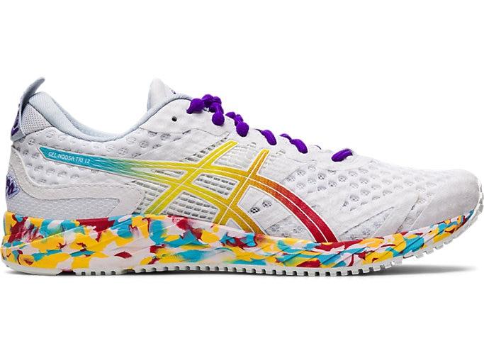 Women's GEL-NOOSA TRI™ 12 | WHITE/CLASSIC RED | Running Shoes | ASI