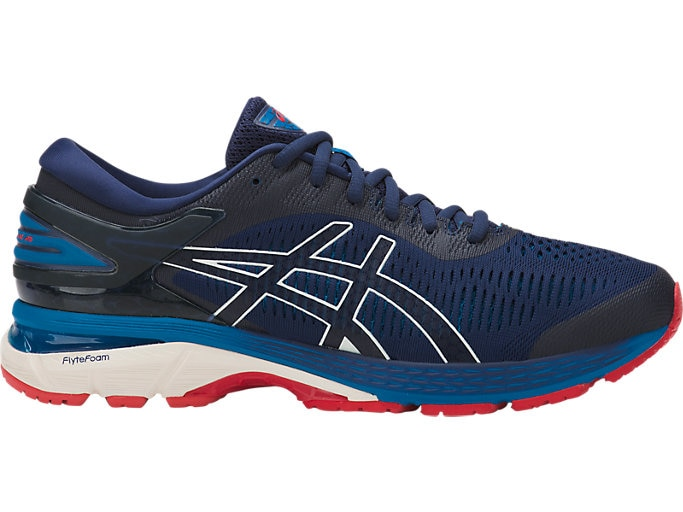 Men's GEL-Kayano 25 | Indigo Blue/White | Running Shoes | ASI
