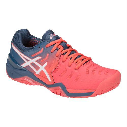 Asics Gel Resolution 7 Womens Tennis Shoe, E751Y 7