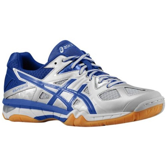 asics Shoes   Gel 1120v Blue And White Volleyball   Poshma