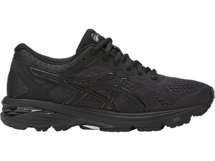 Women's GT-1000 6 | Black/Black/Silver | Running Shoes | ASI