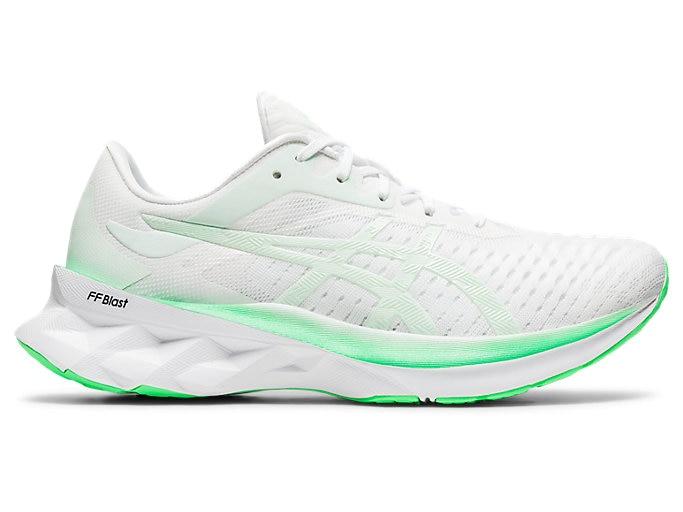 Women's NOVABLAST™ | WHITE/MINT TINT | Running Shoes | ASI