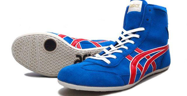 AMERICA-YA: ASICS EX-EO Wrestling Shoes AMERICA-YA original colors .