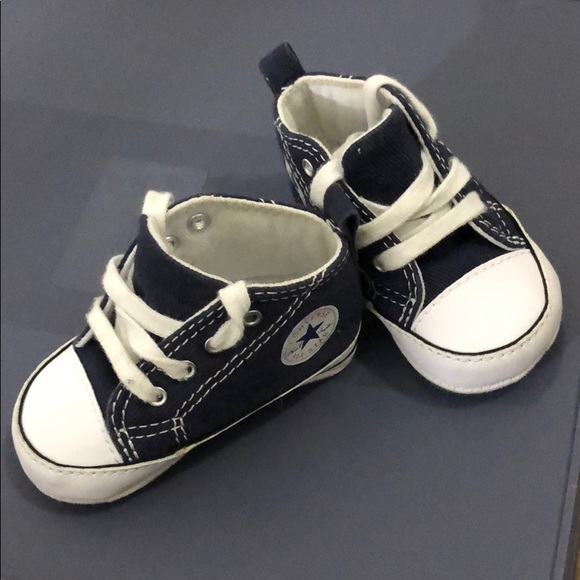 Converse Shoes | Baby In Blue | Poshma