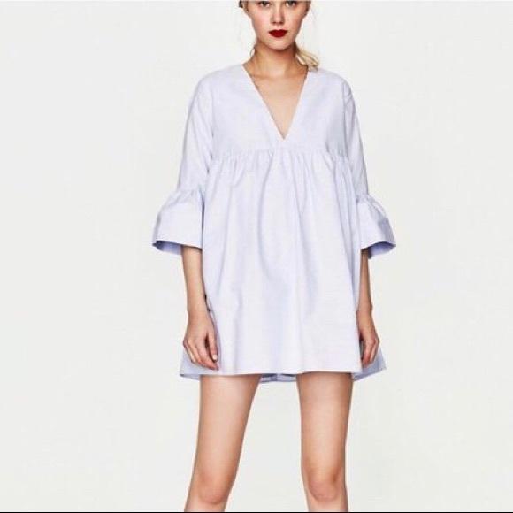 Zara Dresses | Babydoll Dress Size S | Poshma