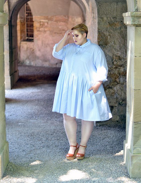 Rock Baby Doll Dresses - Plus Size Summer Styles To Copy .
