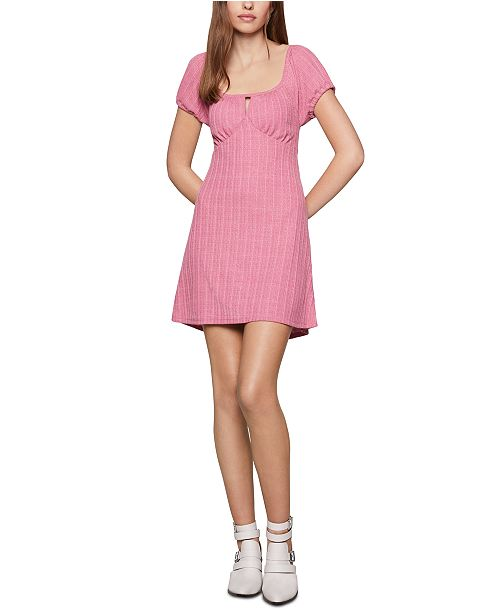 BCBGeneration Empire-Waist Mini Babydoll Dress & Reviews .