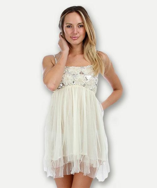 Lace Babydoll Dress - BellaCloth Boutiq