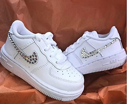 Amazon.com: Baby air force 1, Bling baby shoes, baby girl nike .
