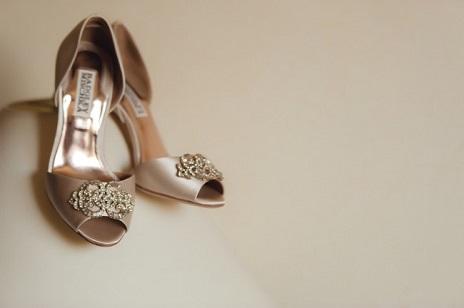 Badgley Mischka Bridal Shoes: Bravado Down the Wedding Ais