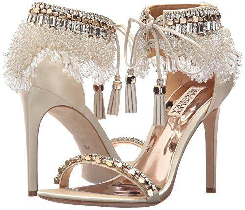 Amazon.com: Badgley Mischka Women's Katrina Heeled Sandal .