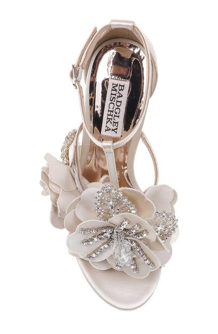 Lisa Floral Embellished Evening Shoe by Badgley Misch