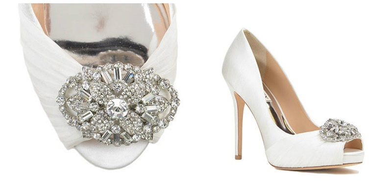 Elena Damy - Our Top 5 Favorite Wedding Shoes by Badgley Mischka .