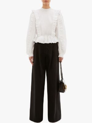 HIGH WAISTED BAGGY TROUSERS | JW Anders