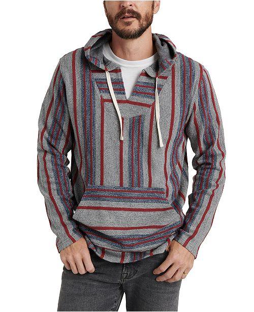 Lucky Brand Men's Striped Baja Hoodie & Reviews - Hoodies .