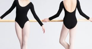 Teen Girls Ballerina Ballet Dance Leotard Dance Wear Black Cotton .