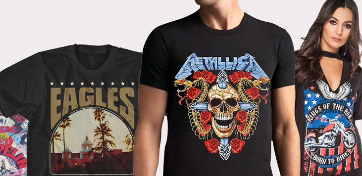 8 Places You Can Get Really Authentic Vintage Band Tees - Vxotic .
