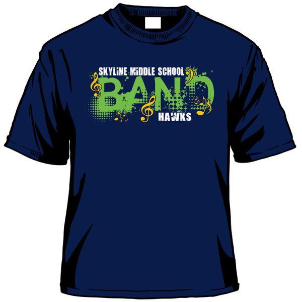 Skyline Middle School Band T-Shirt   THESTITCHESANDBOWS.C