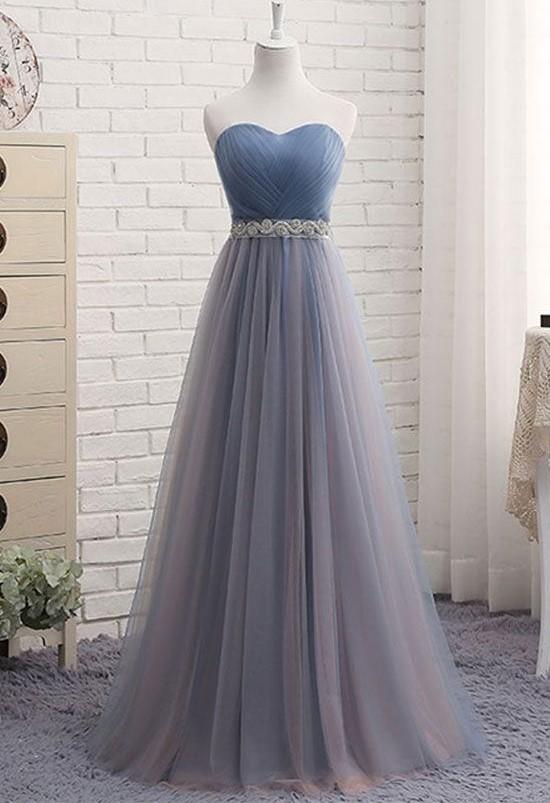 Tulle Prom Dresses, Formal Dresses, Graduation Party Dresses .