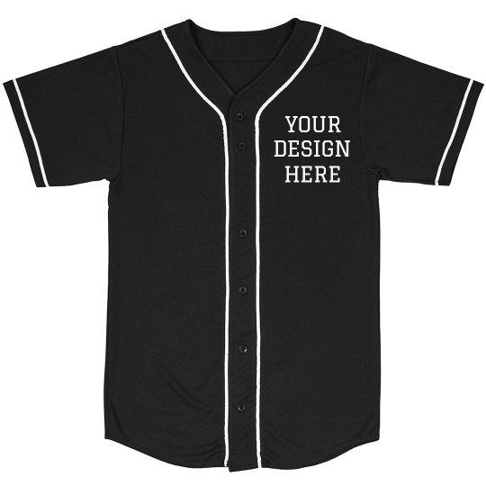 Custom Design Baseball Shirt Unisex Mesh Baseball Jers