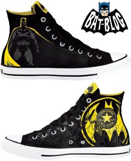 BAT - BLOG : BATMAN TOYS and COLLECTIBLES: New BATMAN CONVERSE .