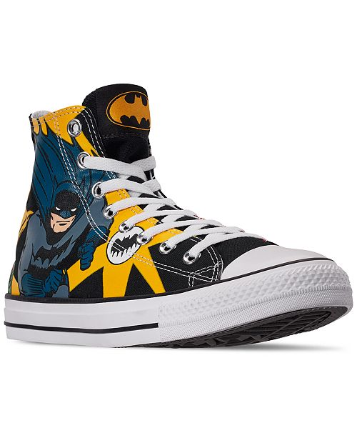Converse Men's Chuck Taylor All Star Batman High Top Casual .
